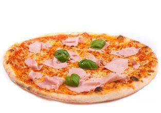 Pizza mit Schinken aus Stuttgart-Ost