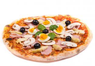 Pizza Capricciosa aus dem Stuttgarter Osten